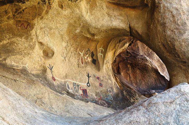 Joshua Tree Petroglyphs